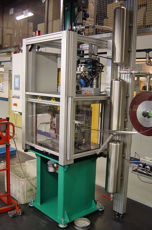 Pneumohydraulics Instead Of Hydraulics Tox 174 Pressotechnik